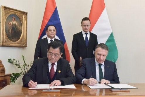 Laoszi Miniszterelnök Helyettes Magyarországi látogatás